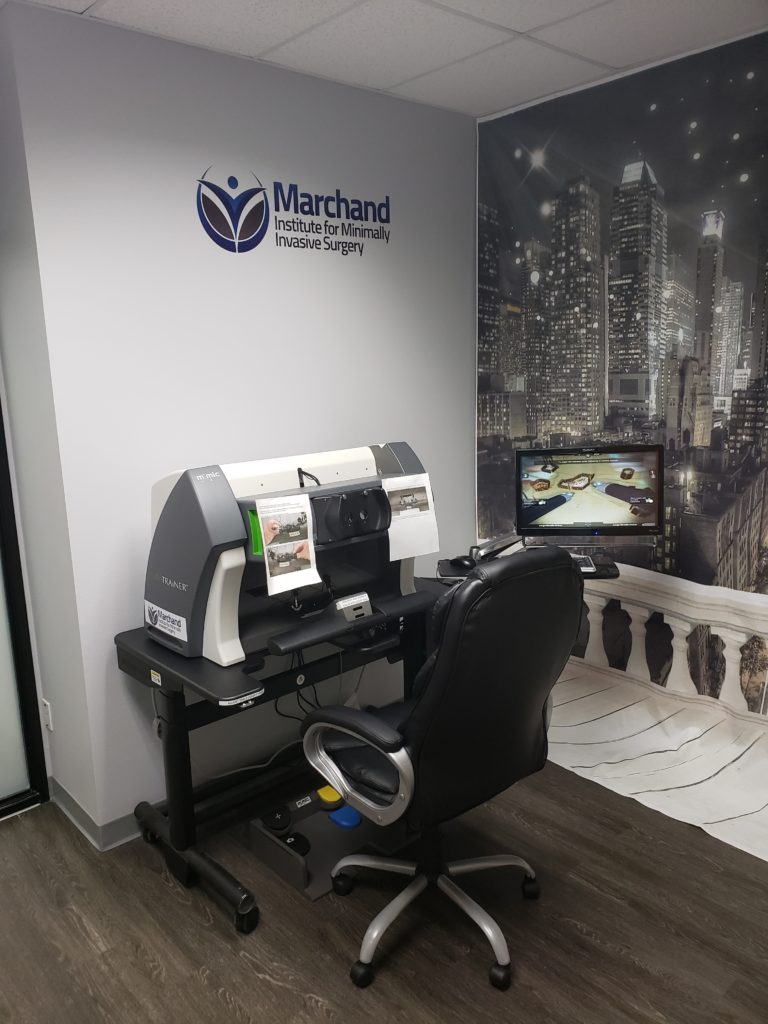 Mimic Da Vinici (™) Robotic Simulator