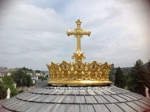 Sexta aparición en Lourdes