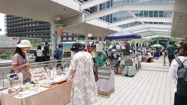 REACH大崎クラフトマーケット20190710(1)