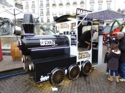 Locomotive à marrons de Noël