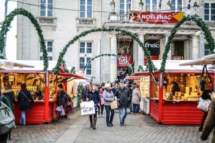 Faire ses achats de Noël à Nantes