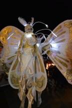 Les papillons virevoltent place Commerce