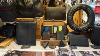 Accessoires en chambre à air recyclée