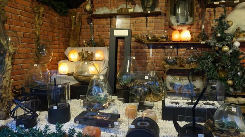 Cheminées de table et jardin zen