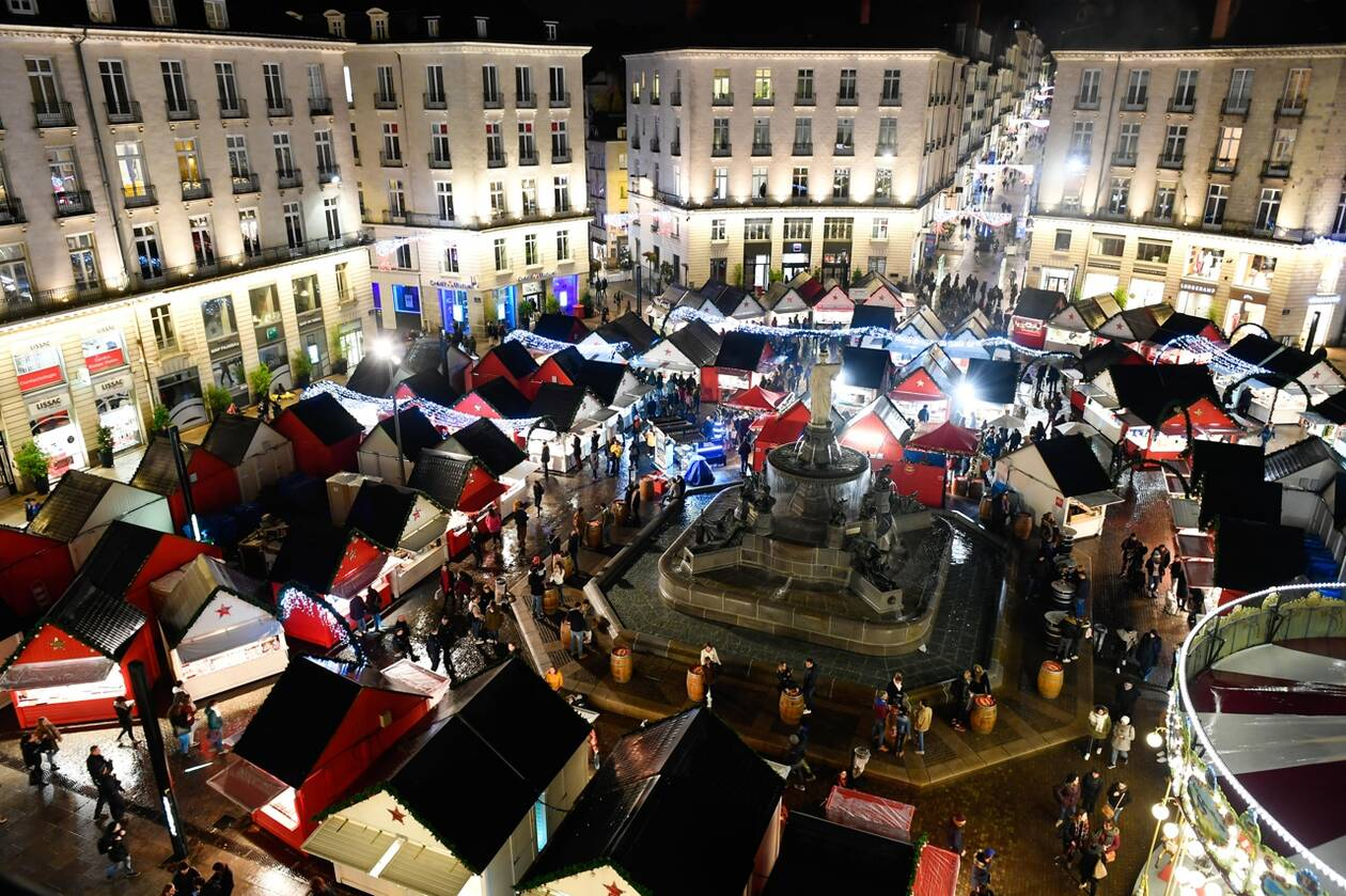 Presse Marché de Noël Nantes