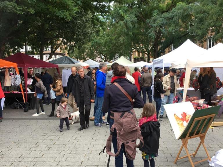 Place de Zurich à Strasbourg - France 33ieme Marché des Créateurs par Touch-arts.com
