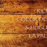 Richard coeur de bois et Huguette la palette – Mobilier