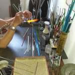 Kathy Goyard – Bijoux en verre dit de «Murano»