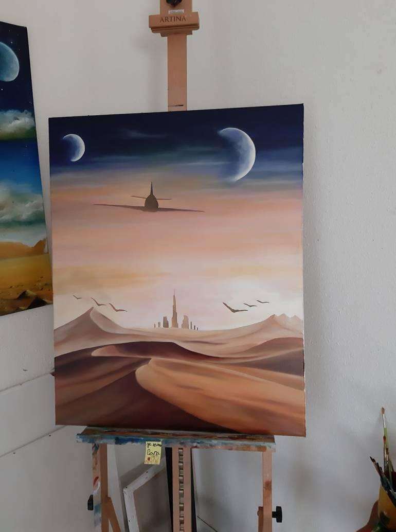 Nicolas Medzela Peinture A L Huile Marche Des Createurs