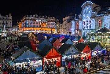 Marché de Noël Angers Place du Ralliement