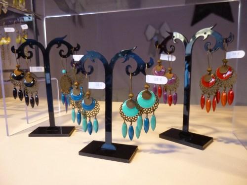 Chalet de bijoux au marché de noël d'Angers