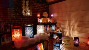 lampes diffuseur au marché de noël le mans