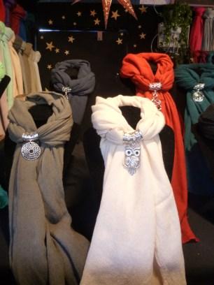 Les bijoux foulards du Marché de Noël de Rennes !