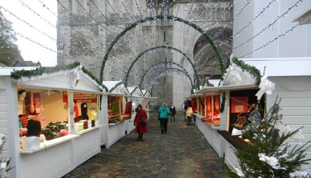 Les allées du Marché de Noël