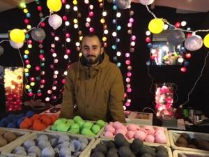 Guirlandes lumineuses en boule de coton