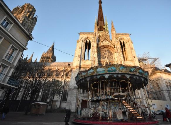 Le manège va si bien à la ville de Rouen