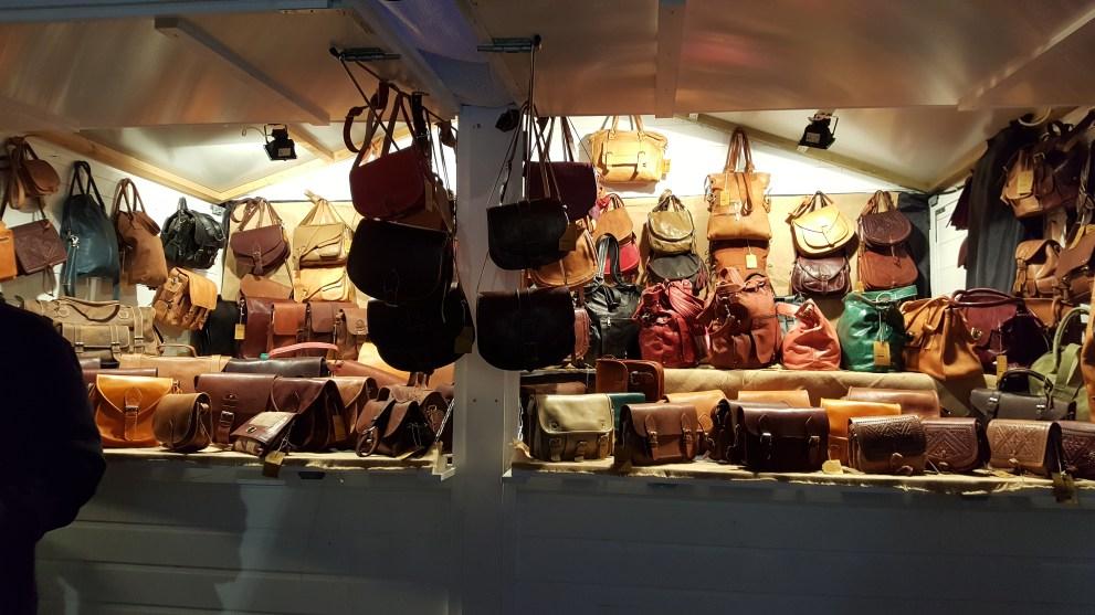 Maroquinerie du Marché de Noël