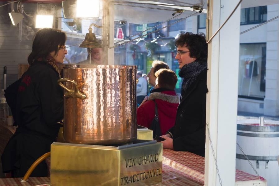 Vin chaud marché de Noël de Rouen Photos Jean-Pierre Sageot