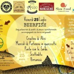 BeerFish degustazione di piatti di pesce accompagnati da birre artigianali