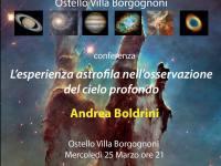 L'esperienza astrofila …