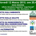 Conferenza su Agricoltura e salute