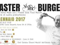 Master Burger. Panini Home Made con i Presidi Slow Food delle Marche