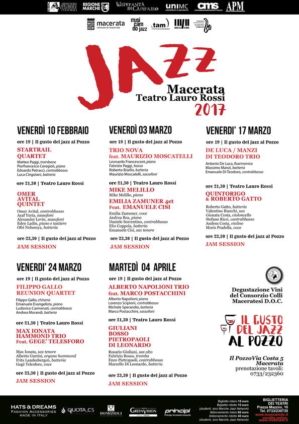 rassegna Macerata jazz 2017