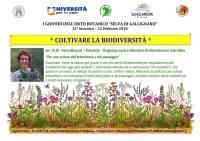 Coltivare la Biodiversità - Karin Mecozzi - Erborista