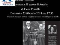 Il secolo di Angelo alla libreria Rinascita di Ascoli Piceno