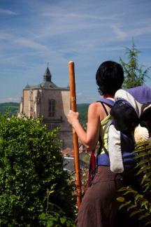 La collégiale de Villefranche-de-Rouergue, XIIIe s.