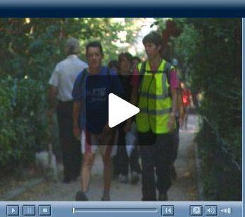 Reportage de France 24 sur les randos à Paris