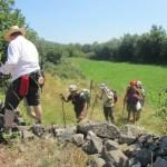 Premiers pas : entraide entre Le-Puy-en-Velay et Montbonnet , août 2013
