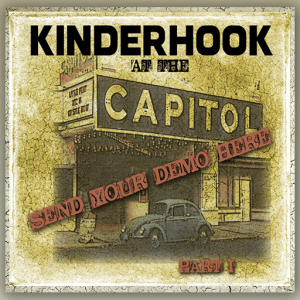 KINDERHOOK Send Your Demo Icon