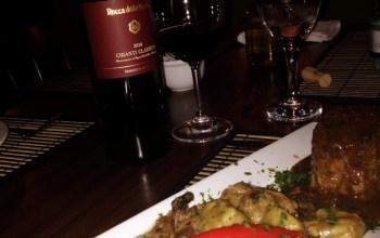 Appetito Bistrô e Chianti Classico na mesa!