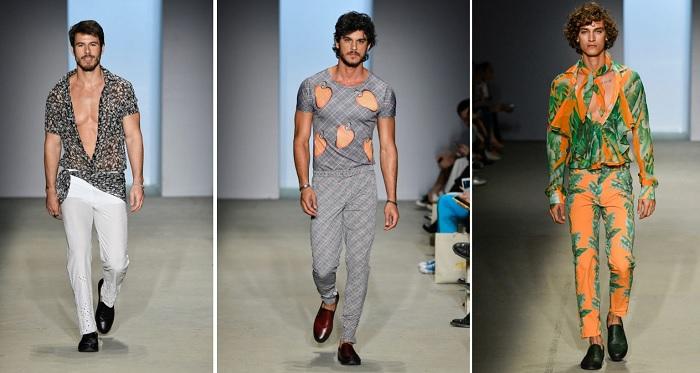 looks masculinos da Amir Slama