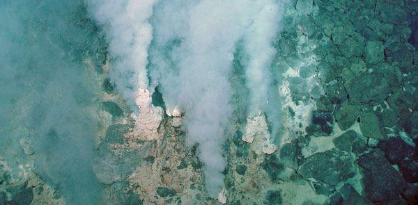 chimeneas hidrotermales