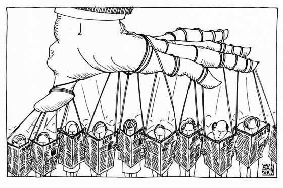 manipulacion medios