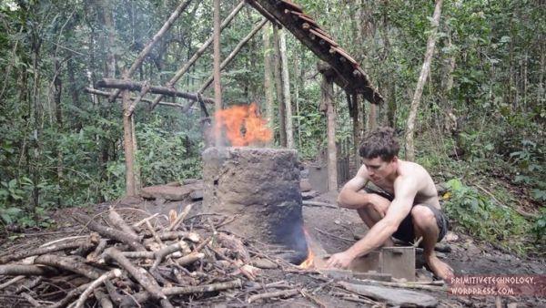 construir choza adobe (9)