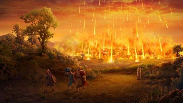 Distruzione di sodom e gomorra