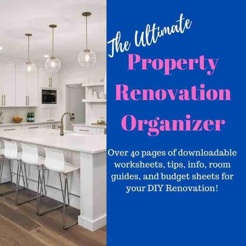 Home Flipping Organizer