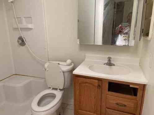 condo bathroom before renovation