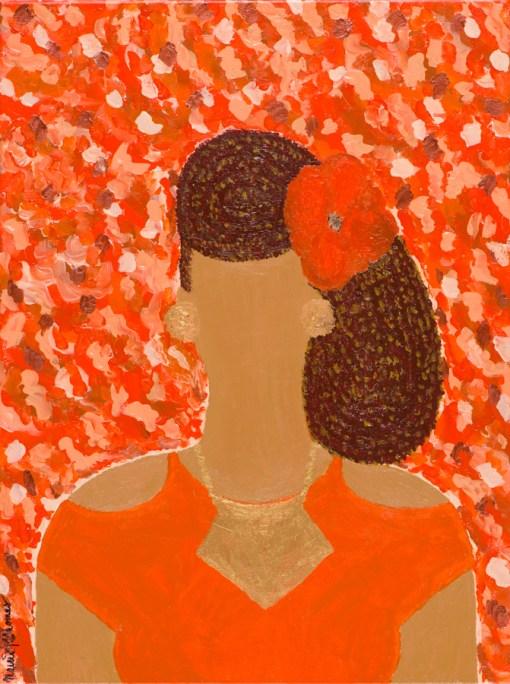 For Color-Full Girls - Lady in Orange