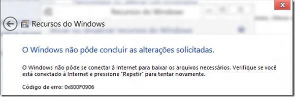 Como instalar o .Net Framework no Windows 8 sem Internet (1/2)