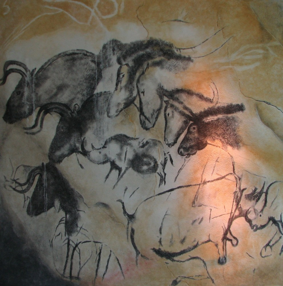 Chauvet Cave, the 2nd oldest known cave art in Europe (2/5)