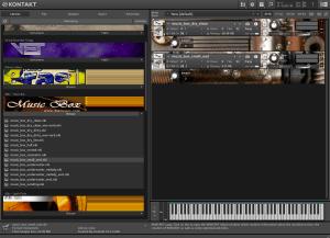 8Dio - Music Box 603,2 MB ( Caixa De Musica ) ( 32 Bits )