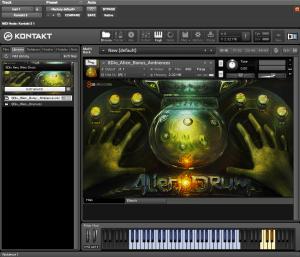 8Dio New Alien Drum 3,84 GB ( Efeitos ) ( 32 Bits )