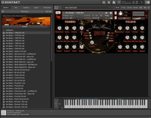 Adam Monroe Music Beats Drum V 2 5.53 GB ( Bateria ) ( 64 Bits )