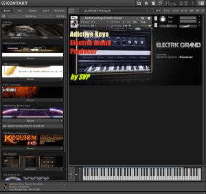 Addictive Keys Electric Grand 350,4 MB ( Piano Eletrico ) ( 64 Bits )