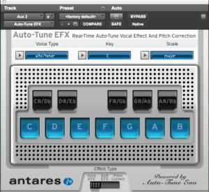 Antares Auto-Tune EFX