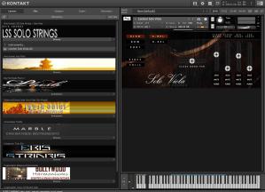 Aria Sounds LSS Solo Strings - Solo Viola 4,44 GB ( Viola Solo )